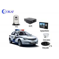 4G Police Car IR Auto Tracking PTZ Camera / Security CameraWith Powerful Magnet Mount