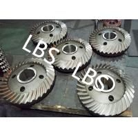 Quality High Pressure Double Helical Gear Electric Water Pump Gearbox Parts Big Spiral Bevel Steel Material wholesale