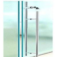 Quality Office Sliding Glass Door Handle With Key Lock / Stainless Steel Door Pulls wholesale
