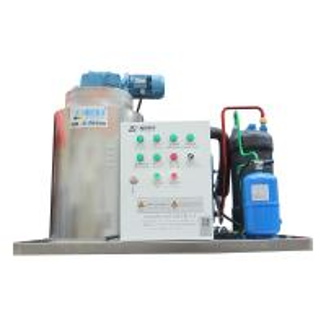 China Refrigerant 407F/ 404A flake ice maker R22 refrigerant ice machine on sale