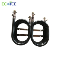 China Spiral Double Copper Tube Heat Exchanger Manufacturer for Pool Heater Air Conditioner Air to Water Heating and Water Coo on sale