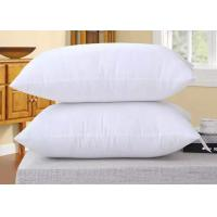 Quality Soft Goose Feather Hotel Collection Pillows , Hotel Collection Down Alternative Pillows  wholesale