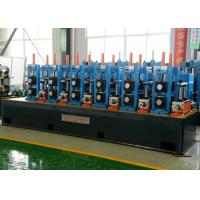 Quality Steel Welded Pipe Making Machine Friction Saw Cutting 50m/Min Line Speed wholesale
