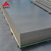 China ASTM B265  Grade 1 Titanium Sheet 8mm 10mm 12mm Thickness Sand Blasting on sale