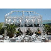 Quality White Aluminum Spigot Truss 50×3 mm For Seaside Holiday Restaurant wholesale