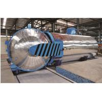 Quality Rubber Vulcanizing Chemical Autoclave with safety interlock wholesale
