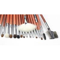 2016 Full Foundation Makeup Brush Kits With Natural Hair And Sliver Copper