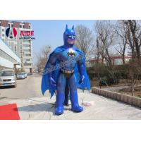 Quality 5M High Batman Inflatable Cartoon Characters With Blower For Trede Show Advertising wholesale