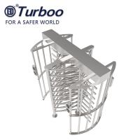 Quality 100-240V G536 Full Height Turnstile Gate SUS304 Material RS485 Automatic Access Control wholesale