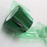 Quality Heat Resistance For Masking PCB 3D Printed No Residue glue Green Silicone PET Adhesive Tape wholesale