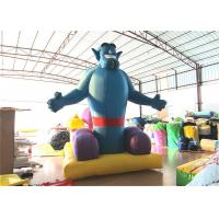 Cheap Indoor Inflatable Christmas Decorations 3.5 X 2.5 X 4m Blow Up Xmas Decorations for sale