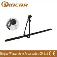 Quality Universal iron car Roof Bike Carrier , Professional roof mount bike rack with key wholesale