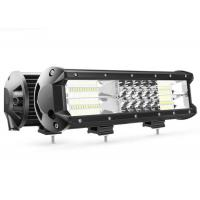 Quality 180W 12 Inch Auto Pickup Led Light Bar 6063 Stainless Steel Material wholesale
