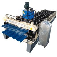 China Double Layer Aluminum metal Roofing Sheet Roll Forming Machine Metal Tile Making Machine In China on sale