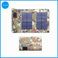 Quality 3W monocrystal folding mobile phone solar charger wholesale