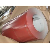 Cheap AZ30g - 180g Color Coated Steel Coil Prepainted With 20 Years Life Span for sale