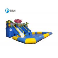 Buy cheap Inflatable Commercial Blow Up Water Slides Easy Install For Amusement Park from wholesalers