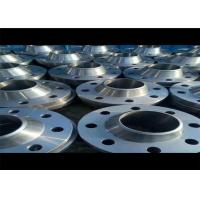 China ANSI B16.5 GR2 WN RF Titanium Forged Flanges , Industrial Pipe Flange For Oil Gas Industry on sale