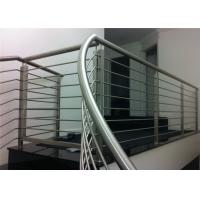 China Solid Rod Bar Stainless Steel Railing Hollow Tube Avilable Simple Installation on sale