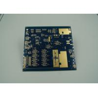 Quality Blue Thick Gold Multilayer PCB Board UL 94 V 0 Flamibility Grade Tg 170 wholesale
