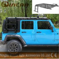 Quality Luggage Car Roof Racks Alininum / Steel Material For Jk Jeep Wrangler wholesale