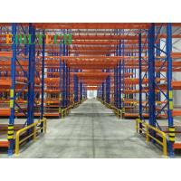 Quality Q235 Warehouse Racking System , Commercial Warehouse Storage Shelving Systems wholesale