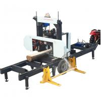 Buy cheap Horizontal Wood Sawmill Portable Band Saw Machine For Cutting Tree Trunk from wholesalers