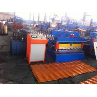 Quality Hydraulic Control Glazed Tile Roll Forming Machine For Construction Metal Making wholesale