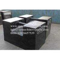 China Industrial measuring equipment M1 standard 47 long x 24 wide x 28 high (cm) 200Kg cast iron test weight on sale