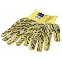 China Yellow Black Kevlar Felt Cut Resistant Gloves 8mm 10mm Thickness on sale