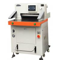 China High Speed Spin Cutter Semi Automatic Paper Cutting Machine For A3 Size Paper on sale