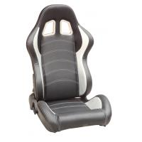 Quality Full Reclinable Sport Racing Seats Black / Red / Blue / Yellow / Gray Color wholesale