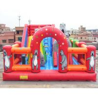 Quality Bear Inflatable Theme Park Bounce House Gonflables Jumping Castle Digitial Printing wholesale
