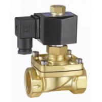 Quality 2 Inch Semi Direct Acting Brass Water Solenoid Valve Normally Open 24VDC wholesale