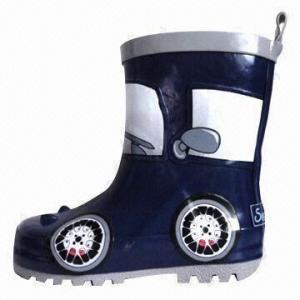 Quality Rubber rain boots/children's fashion boots, cotton lining wholesale