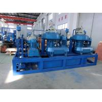 Quality 50HZ 60HZ Self Cleaning Centrifugal Oil Purifier , Engine Oil Purification Machine wholesale