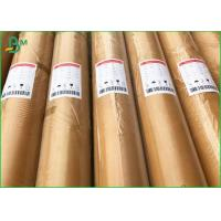 China No Toxic Waterproof Food Grade Paper Roll / 35g 30g White Kraft Paper For Food Pack on sale