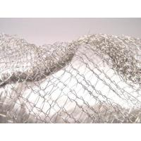 Quality Noise Reduction Knitted Stainless Steel Filter Mesh Crochet Weaving For Gas / Liquid wholesale