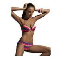 Quality Popular Women Sexy Bandage Lace Padded Bra Beach Halter Bikini Set Swimwear Fantastic wholesale