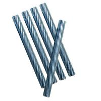Quality M8 Zinc Plated Blue DIN 975 Stainless Threaded Rod Anti Corrosion Full / Part Thread wholesale
