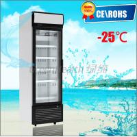Quality One Door Small Glass Door Freezer -25 Degree Dynamic Cooling Eco Friendly wholesale