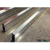 Quality Sliver Mirror Polished Aluminium Profile For Bacony Rail Polished Aluminum Extrusion Profiles wholesale