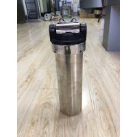 "Quality 10000L Single Under 10"" Stainless Steel Gravity Water Filter For Household Pre - Filtration wholesale"