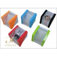 Luxury Window Display Jewelry Box With LED Light For Big Single Finger ...