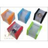 Pantone / spot color velvet Plastic Jewelry Box and jewelry gift boxes ...