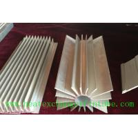 Cheap Round Extruded Aluminum Heat Sink Profile With Small Longitudinal Fins for sale