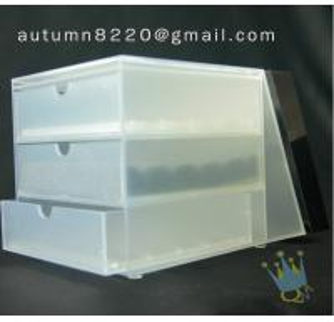 Quality BO (31) 3 tier acrylic display case wholesale