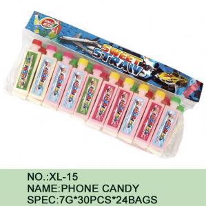 Quality Watermelon Phone Sugar Powder Candy Lowest Calorie 7 G * 30 Pcs * 24 Bags wholesale