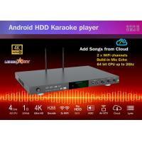 China New android system home ktv jukebox karaoke machine with vietnamese songs cloud,build in Mic-Echo-in on sale
