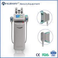 Quality Vertical Fat Reduction Cryolipolysis Slimming Device With Vacuum RF Cavitation Technology wholesale
